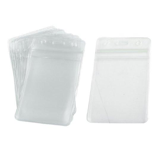 Vertical badge holders