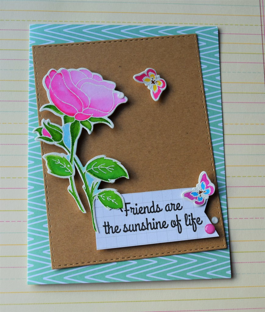 Clearly Besotted and LilInker Design card