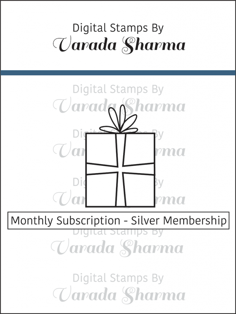 Monthly Subscription of Digital Stamps - Silver Membership