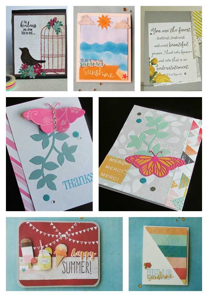 greeting cards collage 1