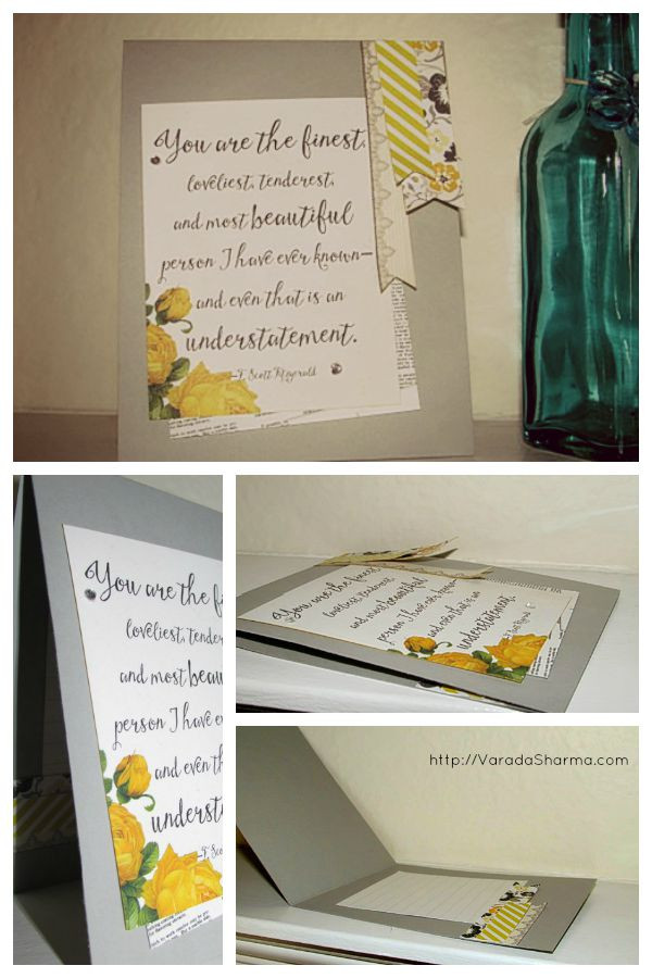 Card made using SSS March 2015 kit