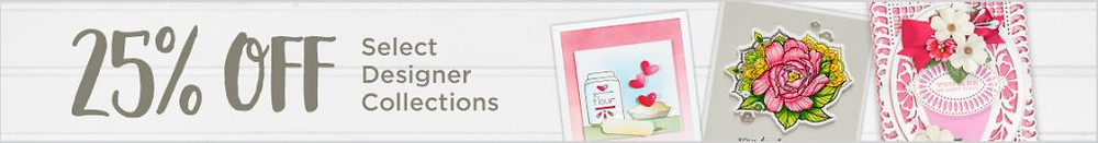 Spellbinders 25off on Select Designer Collections