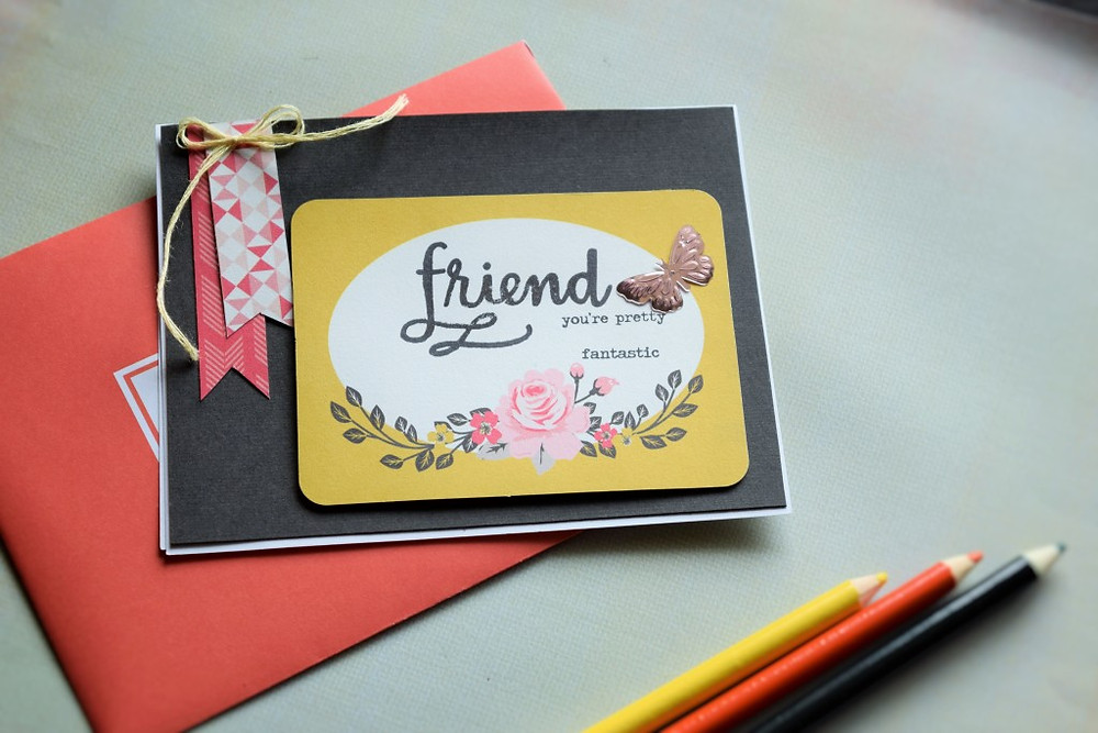 Clean and Simple Card using SSS Oct 2015 card kit