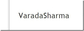VaradaSharma - Sharing creativity. One post at a time.