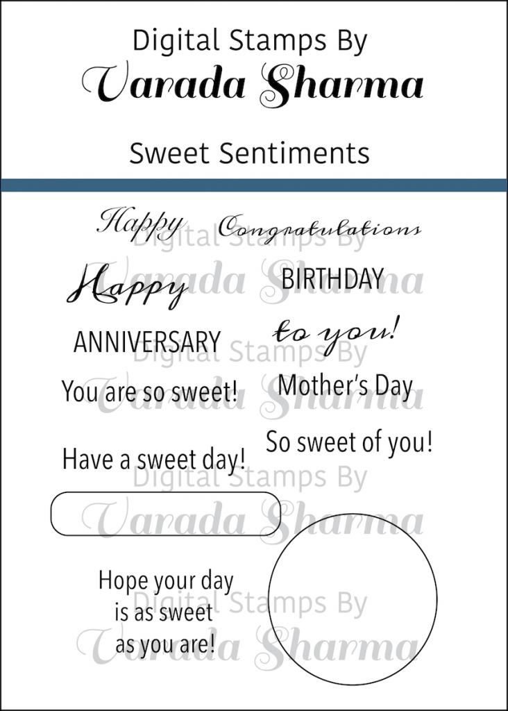 Sweet Sentiments Stamp Set