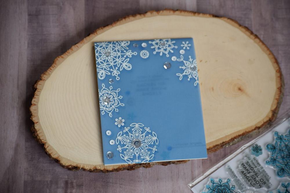 Frozen Fractals card outside