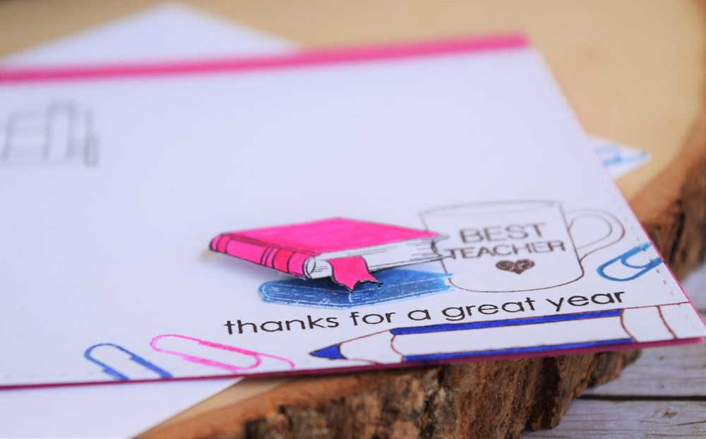teachers appreciation cards - library teacher