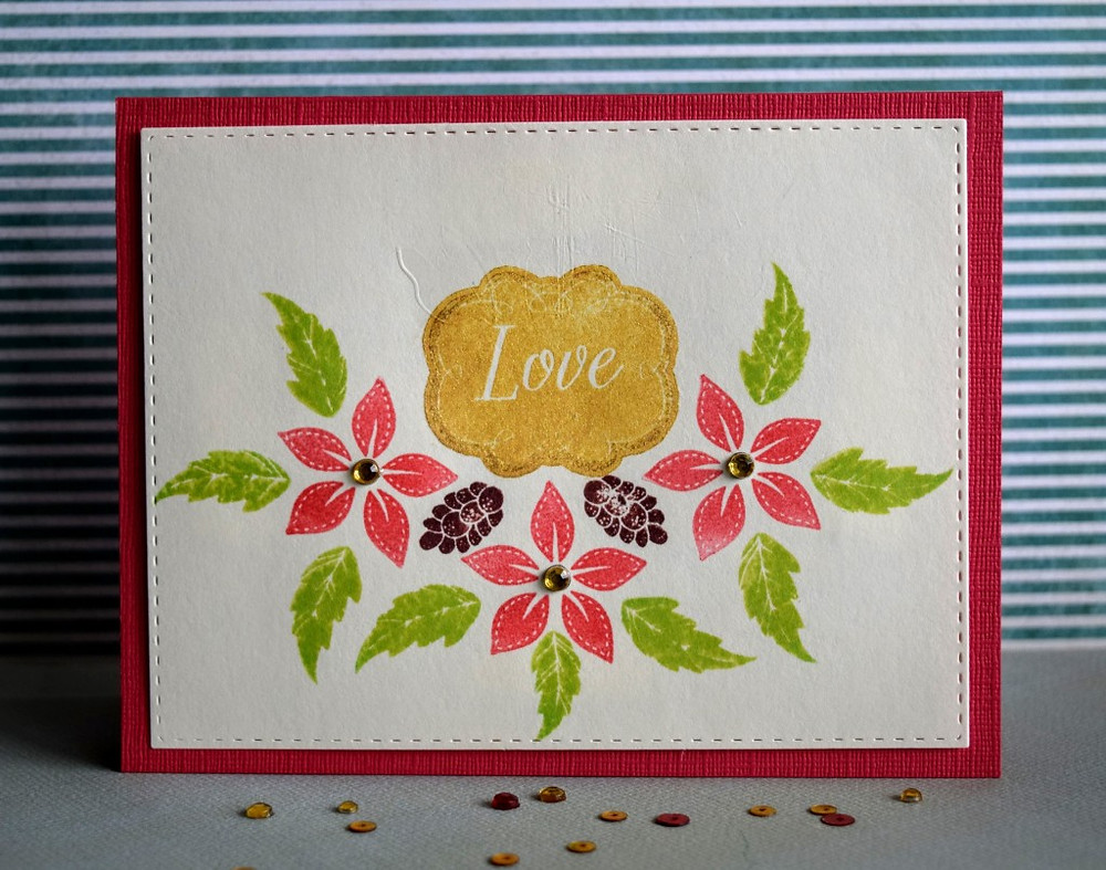 easy to mass produce holiday card