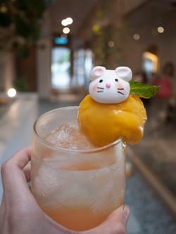 Peach Passion Sparkling Float
