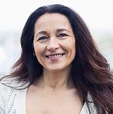 Lächeln Frau mittleren Alters
