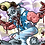 Thumbnail: Color Zombie Caricature - Digital