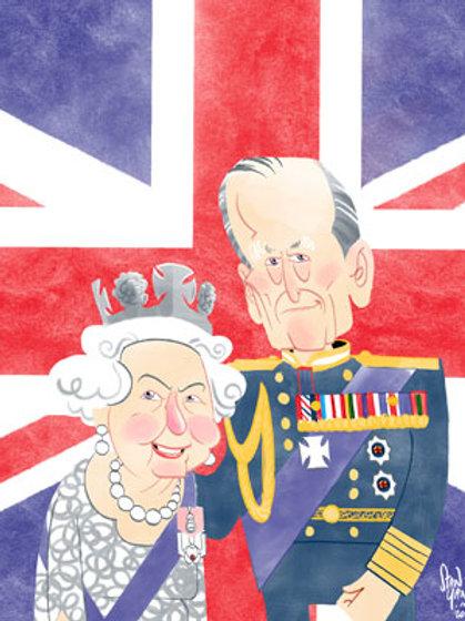 British Royal Caricature Prints