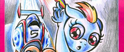 Pony caricature