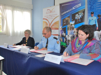 Signature d'une convention de partenariat avec la Gendarmerie de la Loire-Atlantique