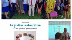Participation de l'ADAVI 44 à une présentation de la Justice Restaurative de Robert Cario (IFJR)