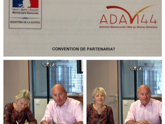 Convention entre l'ADAVI 44 et la DTPJJ