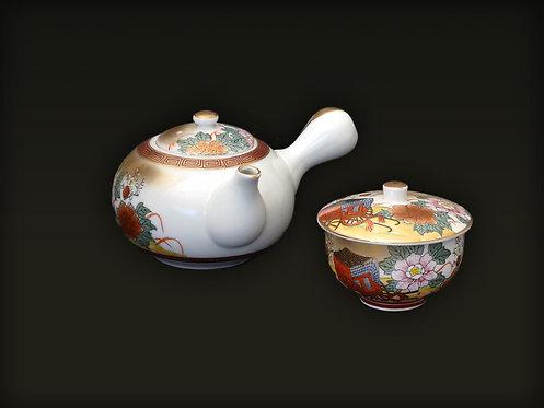 Kutani Tea Set