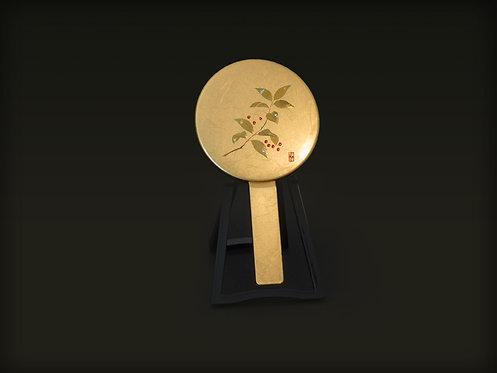 Gold Leaf Kagami Lacquerware