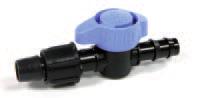 Sklendė juostos 16 mm ir LDPE vamzdžio 16 mm jungimui
