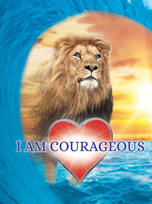 Empowerment Poster - I Am Courageous