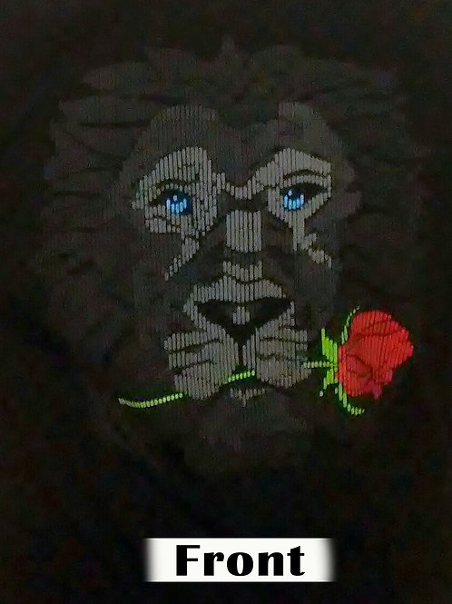Lion Empowerment with Rose T-Shirt