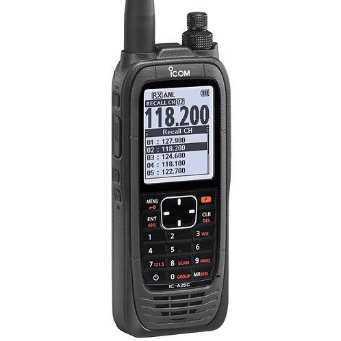 ICOM A25C VHF Transceiver 110V COM Only