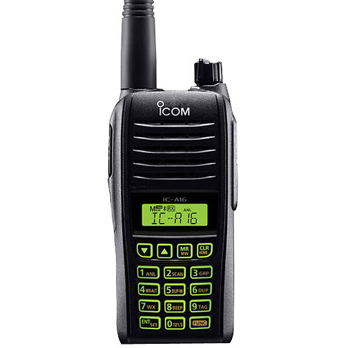 IC-A16 VHF Airband Handheld | Communications Only