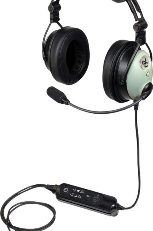 DC One-X Aviation Headset | Bluetooth, Hybrid ENC, Dual Plug