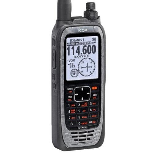 ICOM A25N VHF NAV/COM/GPS Radio with Bluetooth