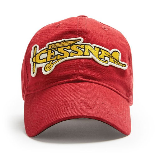 Red Canoe Cessna Cap | Heritage Red