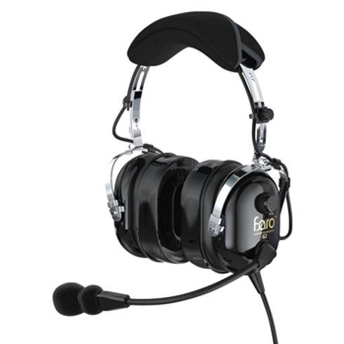 Faro™ G2 PNR Headset | Black, Dual GA Plugs