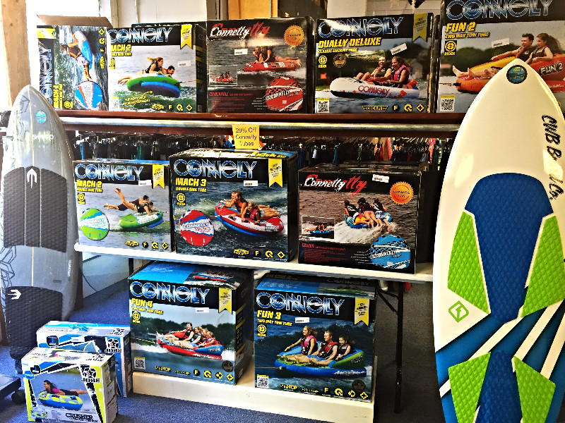 Connelly Towable Tubes and Wakesurf
