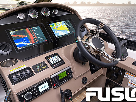 Example of Fusion marine audio