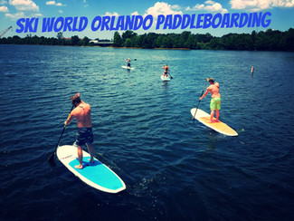 Spring Break Paddleboarding