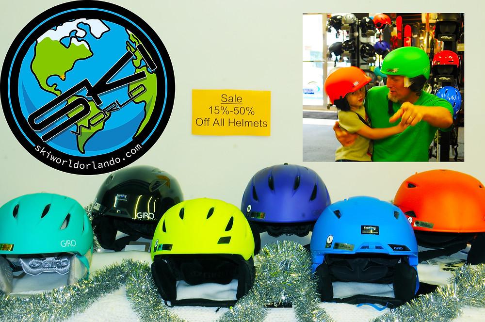 Ski World Orlando Helmets