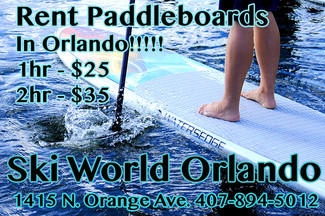 Rent Paddleboards in Orlando!