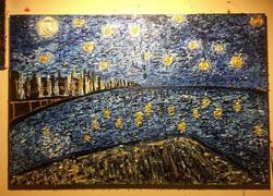 """Summer Night Over The Hudson"""