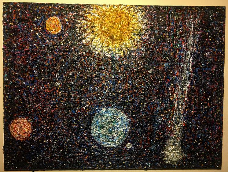 """Perihelion"" 24x20in"
