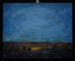 """""""Shooting Star"""" 20x16in"""
