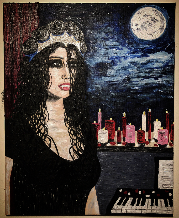 """Queen of the Damned Roses"""