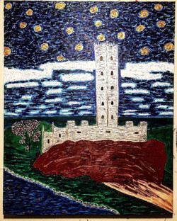 """Tower of Joy"" 30inx24in"