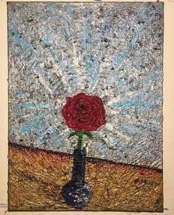"""""""Leftover"""" (Roses IV),  24in x 20in"""