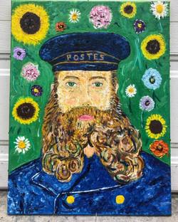 Postman Roulin, 24in x 18in