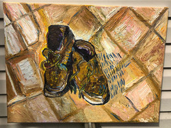 """""""Vincent's Shoes"""" 20 x 16in"""