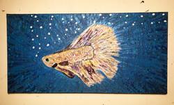 """""""A Fish Named Carlos"""" 24 x 12"""