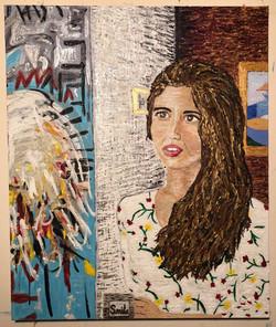 """Princess of New York""  30 x 24"