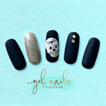 It's time for some spooky nails. Matte b
