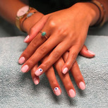 This classic gel overlay is beautiful in
