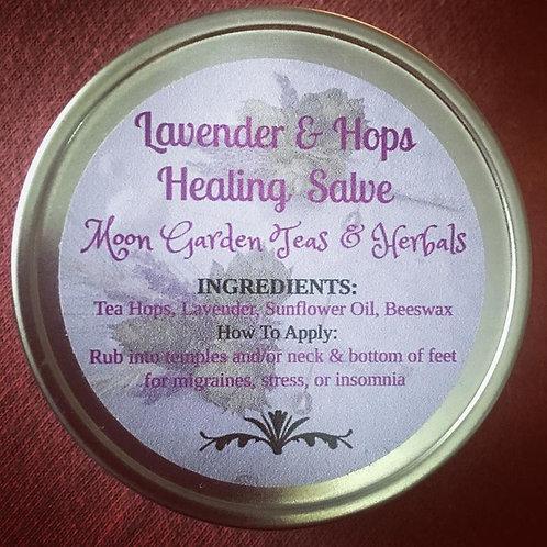 Lavender & Hops Healing Salve