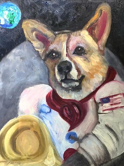 Whimsical Pet Portrait by Callista